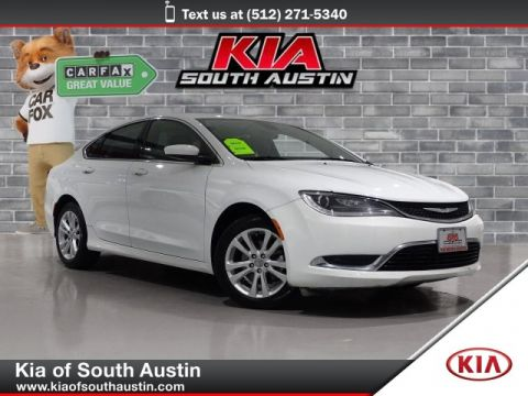 Pre-Owned 2015 Chrysler 200 Limited Sedan Automatic Transmission