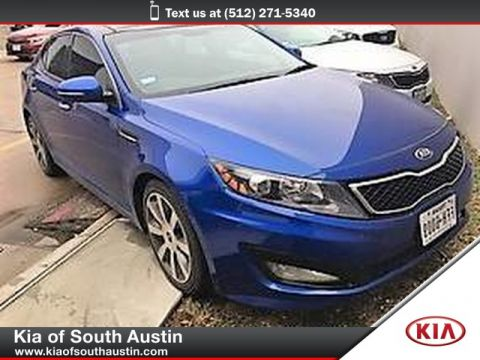 Pre-Owned 2013 Kia Optima SX Premium Touring Package