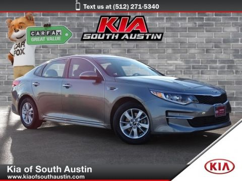 Certified Pre-Owned 2018 Kia Optima LX Sedan 16 Alloy Wheels CARFAX 1-Owner