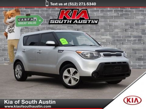 Pre-Owned 2015 Kia Soul Automatic Transmission Electric Power Steering CARFAX 1-Owner