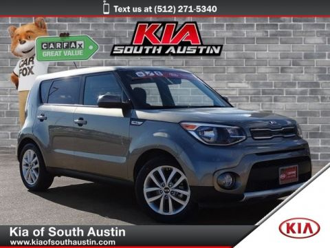Certified Pre-Owned 2017 Kia Soul + Wagon Automatic Transmission 17 Alloy Wheels