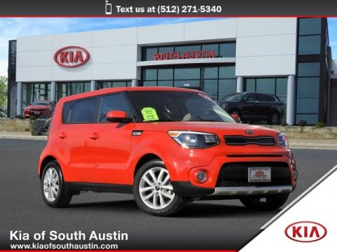 Certified Pre-Owned 2018 Kia Soul + Hatchback Automatic Transmission CARFAX 1-Owner