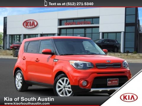 Certified Pre-Owned 2018 Kia Soul + SUV 17 Alloy Wheels CARFAX 1-Owner