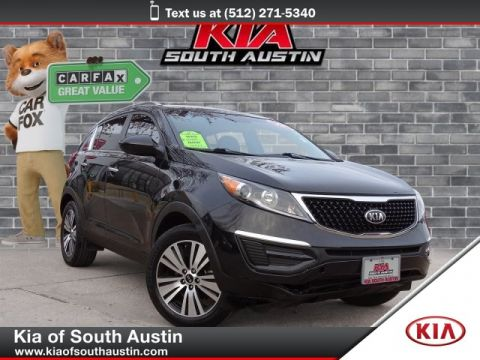 Certified Pre-Owned 2016 Kia Sportage EX Automatic CARFAX 1-Owner Kia Certified Pre-Owned