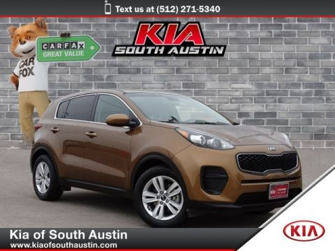Pre-Owned 2017 Kia Sportage LX CARFAX 1-Owner