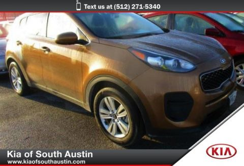 Certified Pre-Owned 2017 Kia Sportage LX SUV Automatic Transmission CARFAX 1-Owner