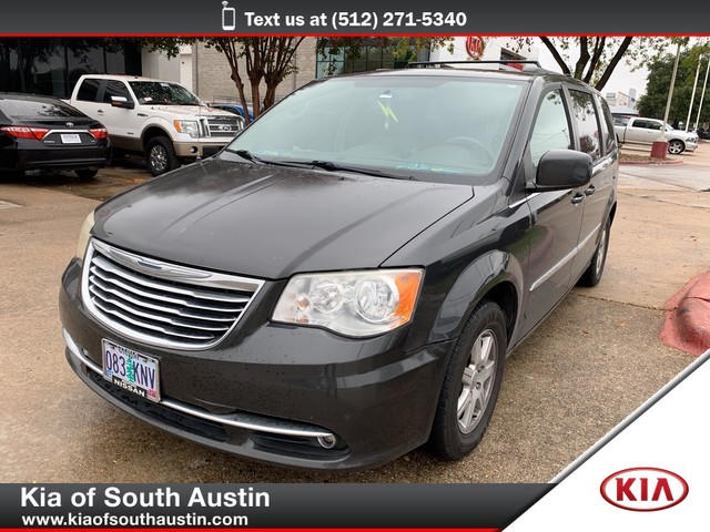 Stow And Go Seating >> Pre Owned 2012 Chrysler Town Country Touring Stow And Go Seating Front Wheel Drive Minivan Van