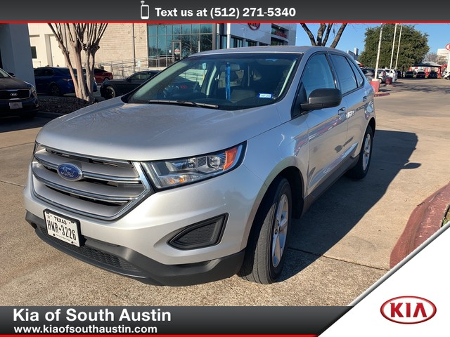 Pre-Owned 2016 Ford Edge SE CARFAX 1-Owner automatic transmission