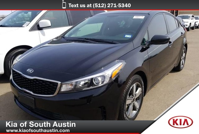 Certified Pre-Owned 2018 Kia Forte S SEDAN Sport-Tuned Suspension CARFAX 1-Owner