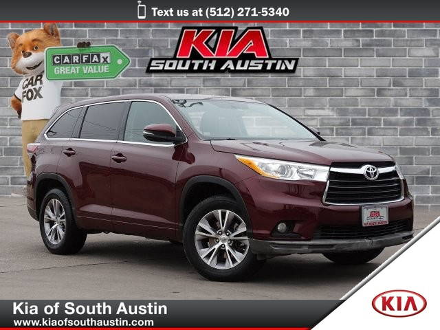 Pre-Owned 2014 Toyota Highlander LE SUV Automatic Transmission All Power
