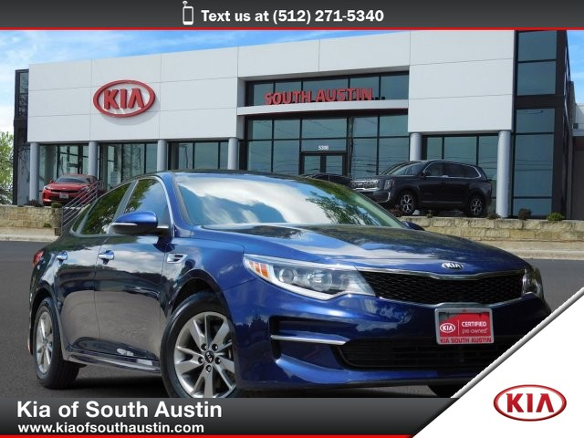 Certified Pre-Owned 2016 Kia Optima LX Turbo