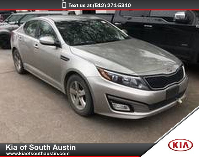 Pre-Owned 2015 Kia Optima LX Sedan Electric Power Steering 16 Alloy Wheels