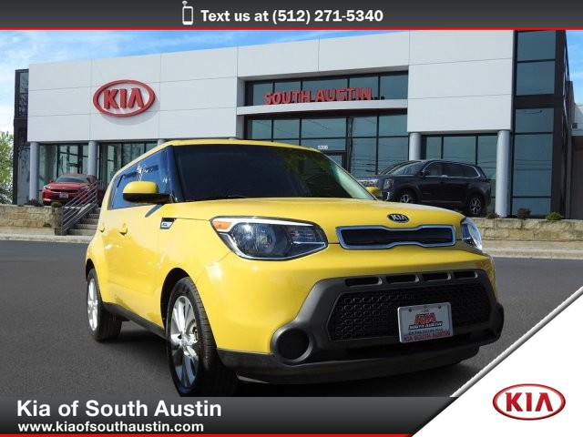 Pre-Owned 2015 Kia Soul + 17 Alloy Wheels Electric Power Steering CARFAX 1-Owner
