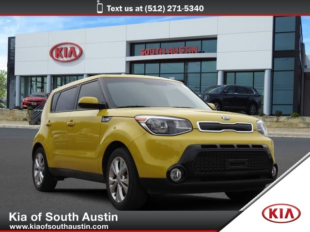 Certified Pre-Owned 2016 Kia Soul + Rear Camera Alloy Wheels CARFAX 1-Owner