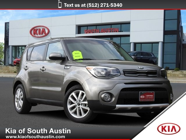 Certified Pre-Owned 2018 Kia Soul + Automatic Transmission Smartphone Integration CARFAX 1-Owner