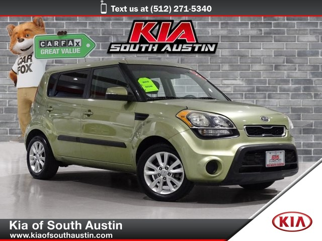 Pre-Owned 2012 Kia Soul + SUV Automatic Transmission Alloy Wheels