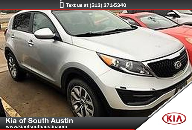 Certified Pre-Owned 2016 Kia Sportage LX SUV 17 Alloy Wheels Automatic Transmission