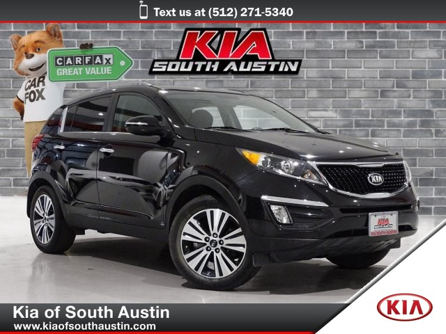 Certified Pre-Owned 2015 Kia Sportage EX Automatic Transmission 18 Alloy Wheels Kia Certified Pre-Owned