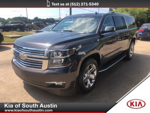 Pre-Owned 2015 Chevrolet SUBURBAN LTZ 4 WHEEL DRIVE CARFAX ONE OWNER